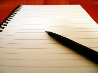 A Writer'-s Notebook: A blank page - Samuel Snoek-Brown