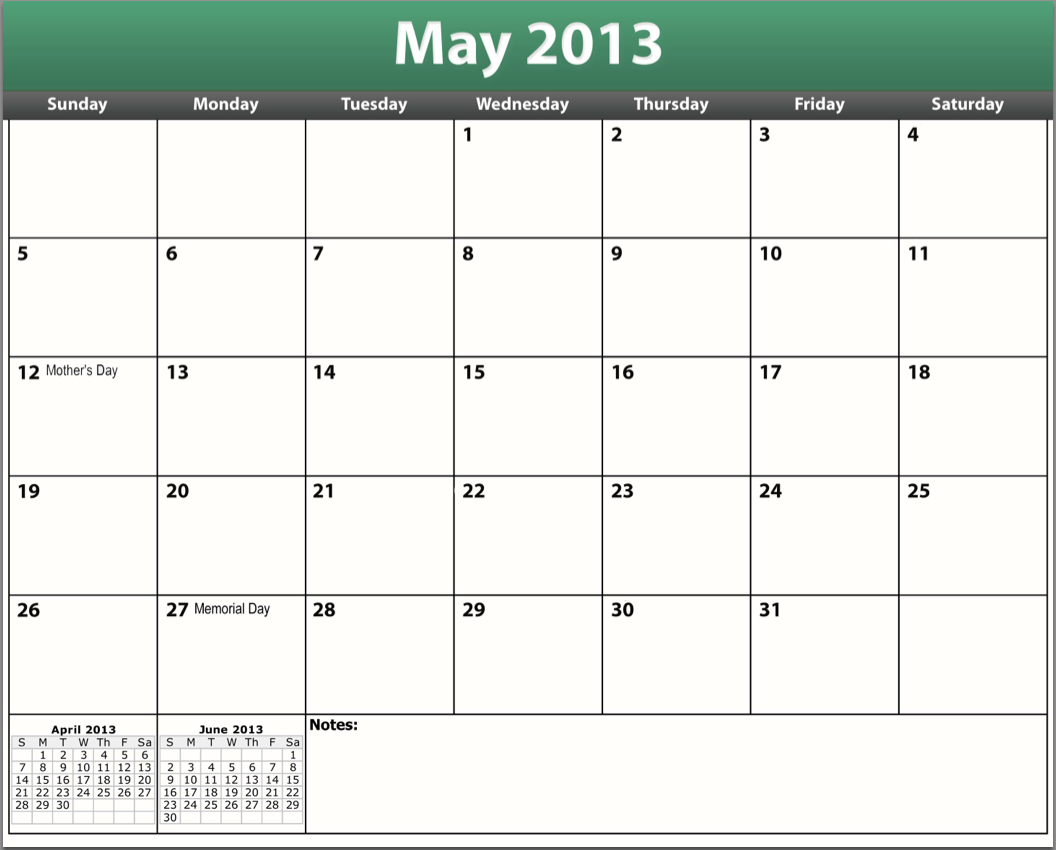 printable-pdf-may-2013-calendar | Francis Moran & AssociatesFrancis ...