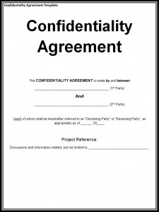 Confidentiality-Agreement-Template